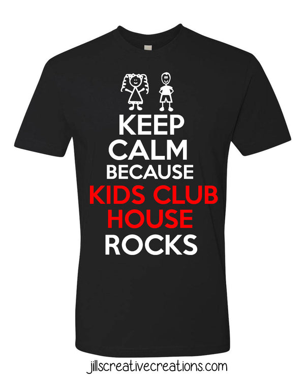 Keep Calm School Spirit T-Shirt