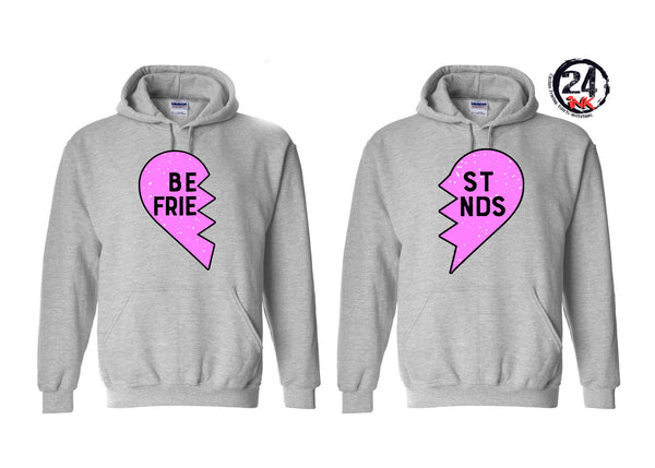 Best Friend Hooded Sweatshirt Set