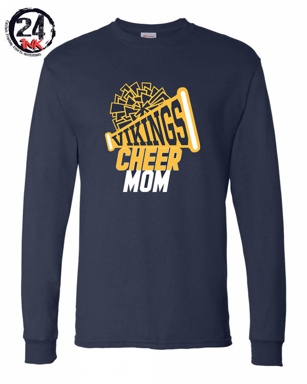 Vernon Cheer Design 2 Long Sleeve, NAVY