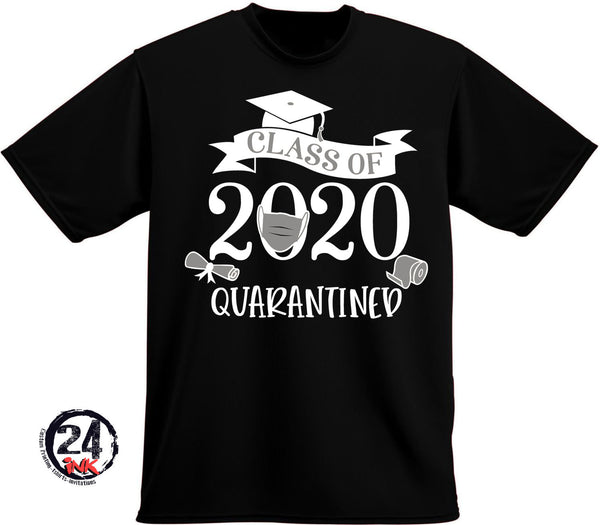 Class of 2020 Quarantine Seniors T-shirt, graduation