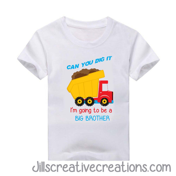 Big Brother T-Shirt, Dump Truck