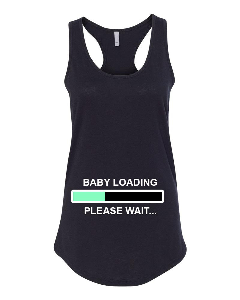 Baby Loading Tank Top, Pregnancy Announcement
