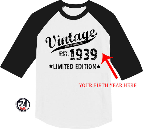 Vintage, Limited Edition Birthday Shirt