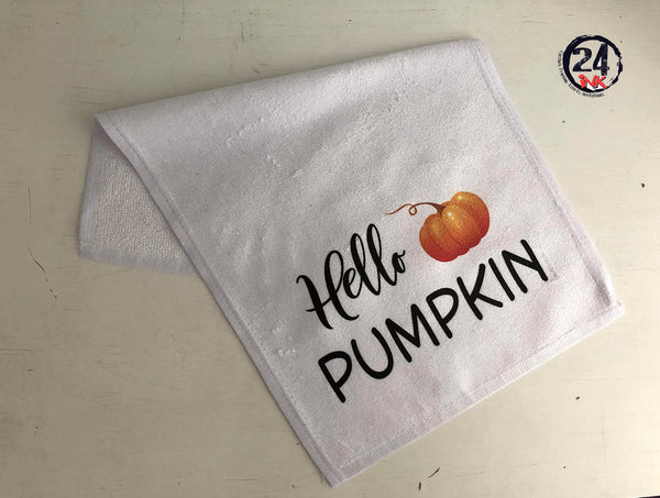 Pumpkin Towel