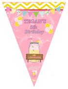 Lemonade Birthday Banner