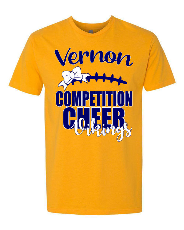 Comp Cheer 2019 Gold T-shirt