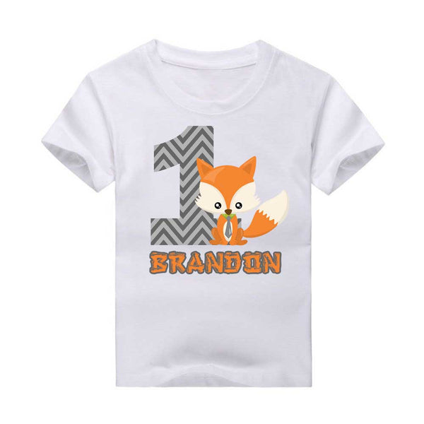Fox T-shirt, Little red fox, Woodland creatures