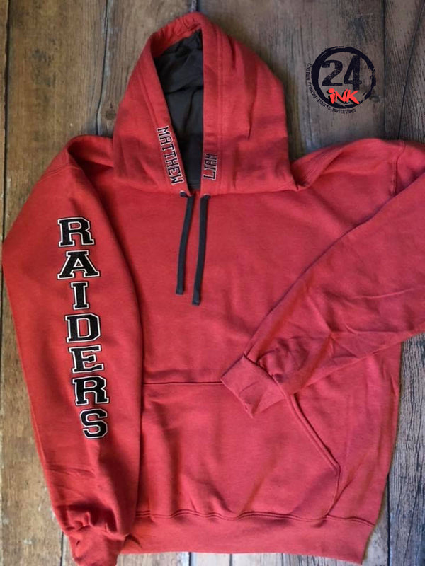 Raiders Spirit Sweatshirt, Personalized