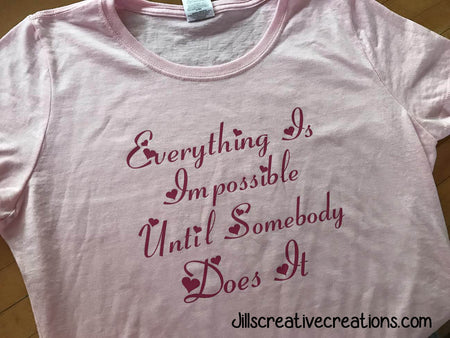 Everything is Impossible t-shirt