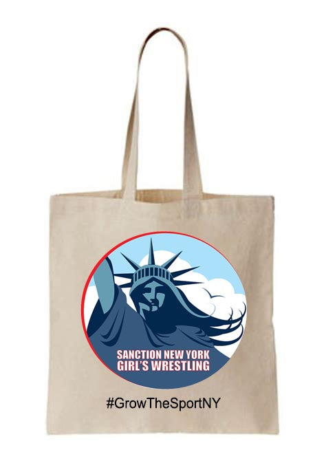 Sanction NY Tote Bag, Wrestling