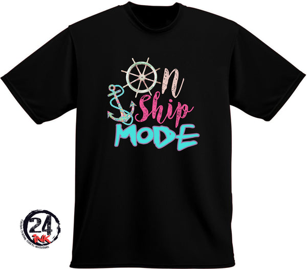 On Ship Mode T-Shirt, Cruise