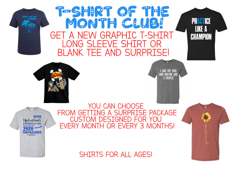24 Ink T-SHIRT OF THE MONTH CLUB