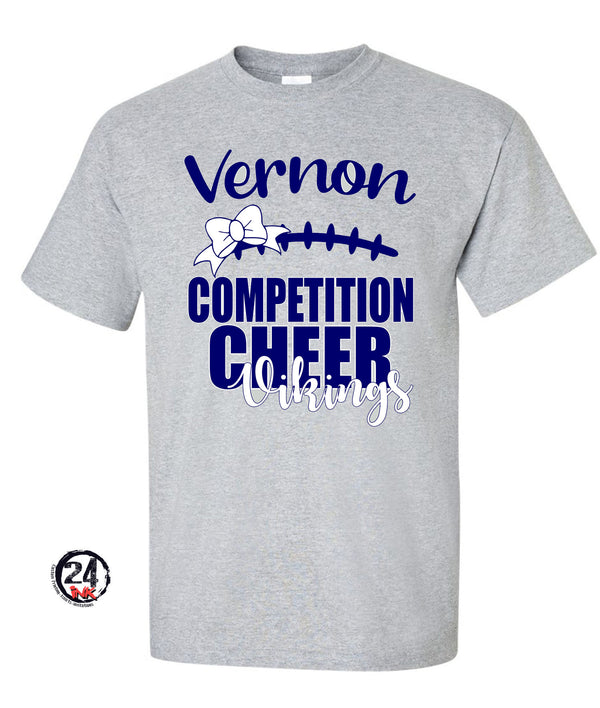 Comp Cheer 2019 Gray T-shirt