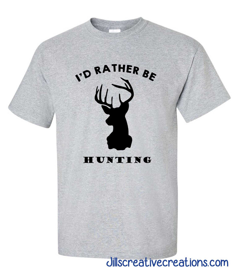 I'd Rather Be Hinting T-Shirt