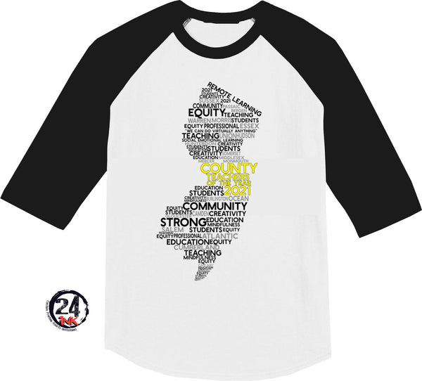 2021 Teachers of the year raglan shirt