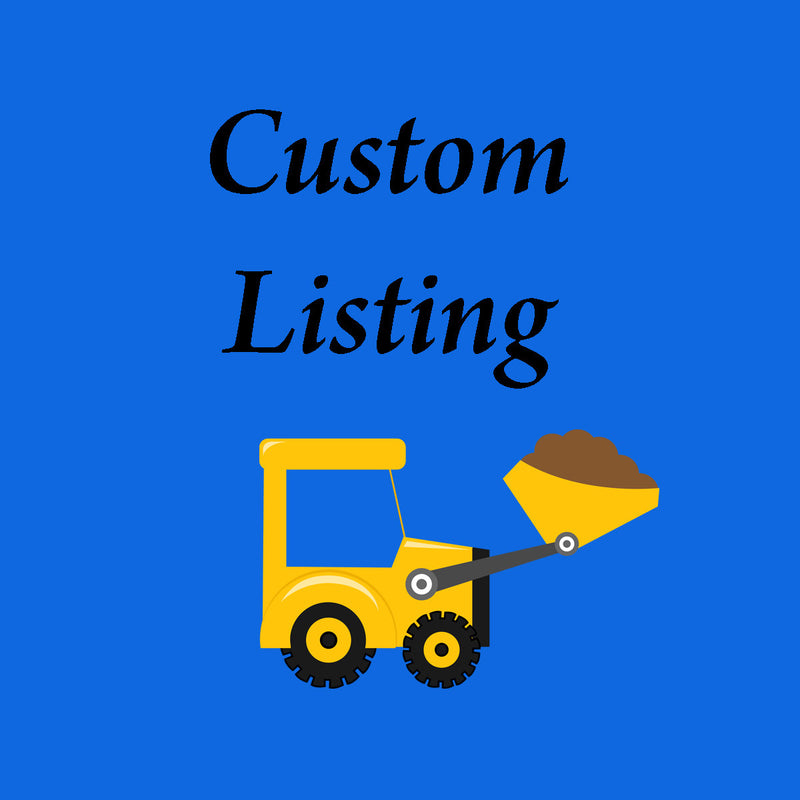 CUSTOM LISTING FOR  SHIPPING