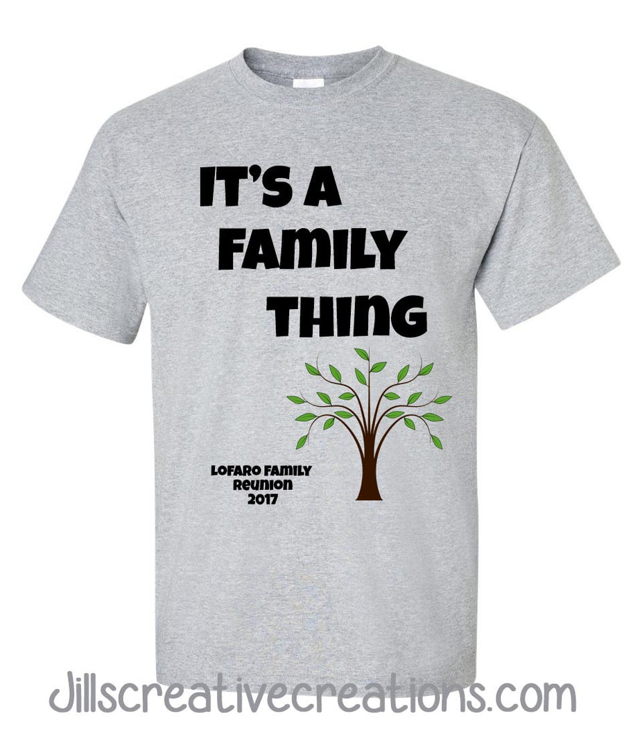 Humorous Family Reunion T Shirts | Toffee Art