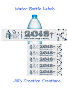 Nurse Graduation Water Bottle Labels
