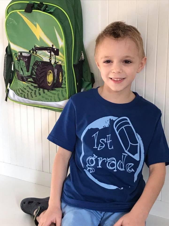 Back to school T-Shirt, Hello 4th grade