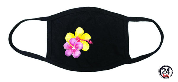 Hibiscus Flowers Face Mask, Masks