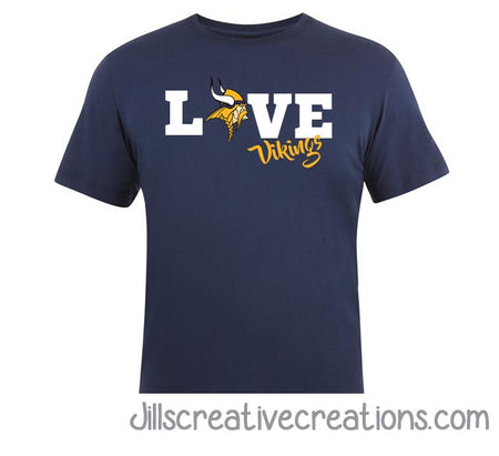 Spirit T-Shirt, School, Love (your team name)