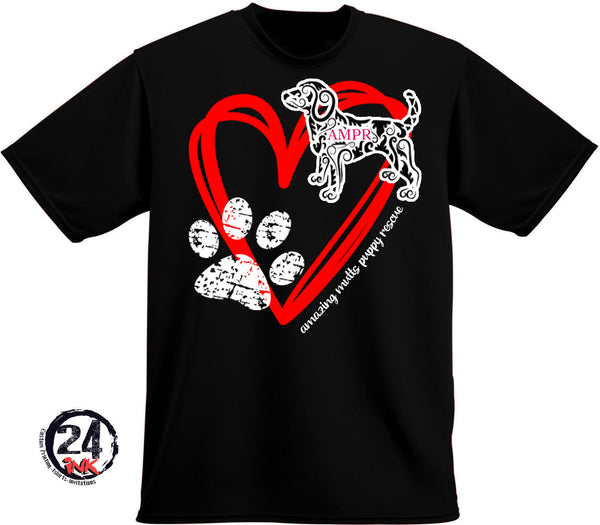 AMPR Big Heart t-shirt