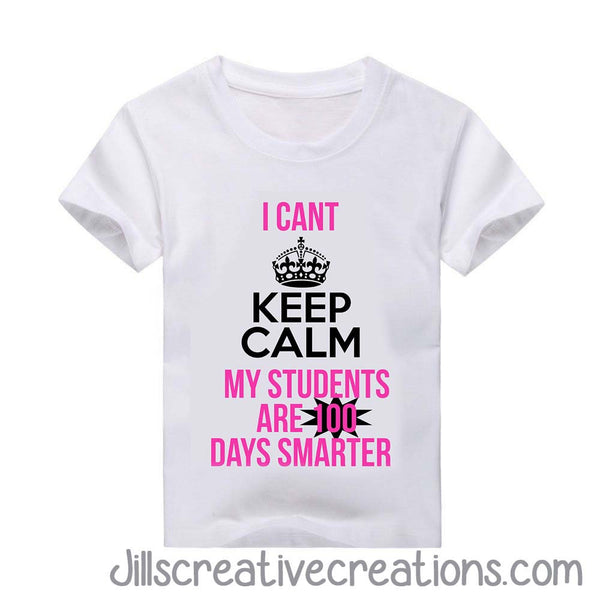 100 Days of school teacher T-Shirt