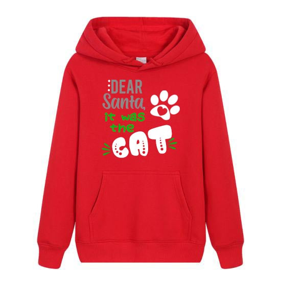 It was the (your pet)  Hooded Sweatshirt