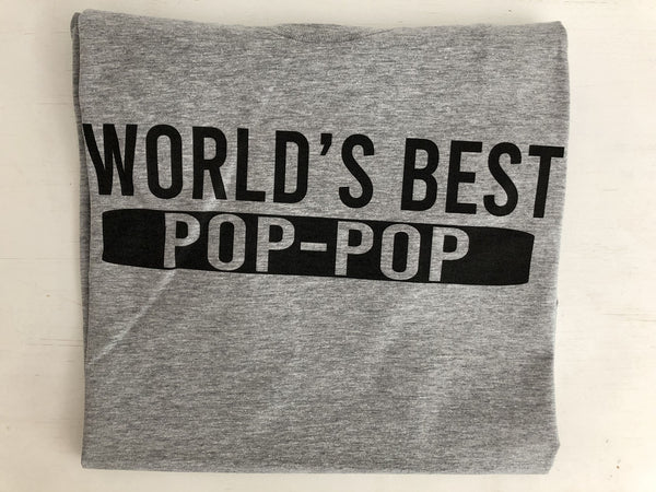 World's best pop-pop t-shirt