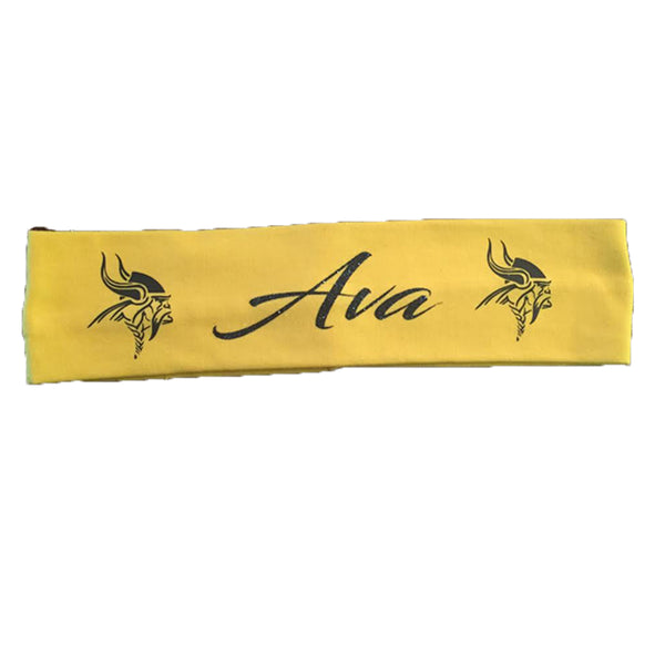 Personalized Cedar Mountain School Spirit Headband