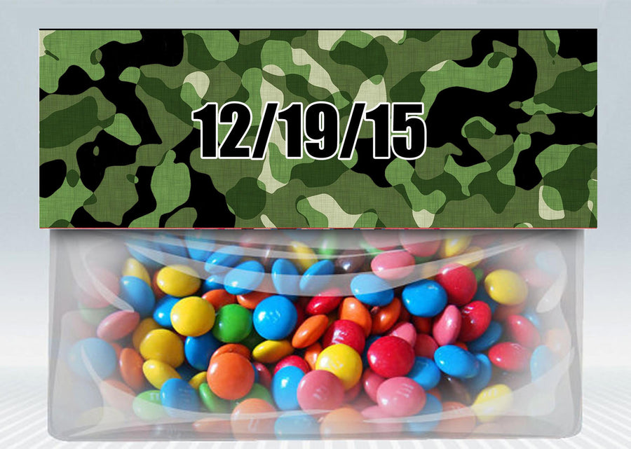 Army Party Bag Toppers