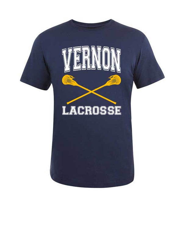 Your Town Name Lacrosse T-Shirt