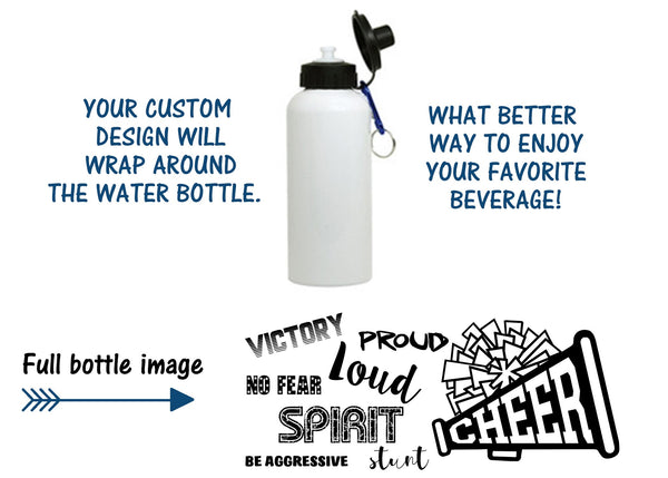 Cheer Water bottle or mug