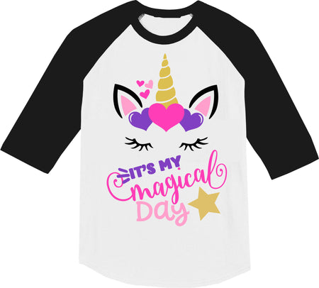 Unicorn Shirt, Birthday shirt