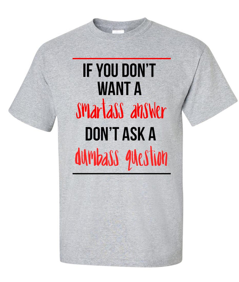 Smart Answer T-Shirt