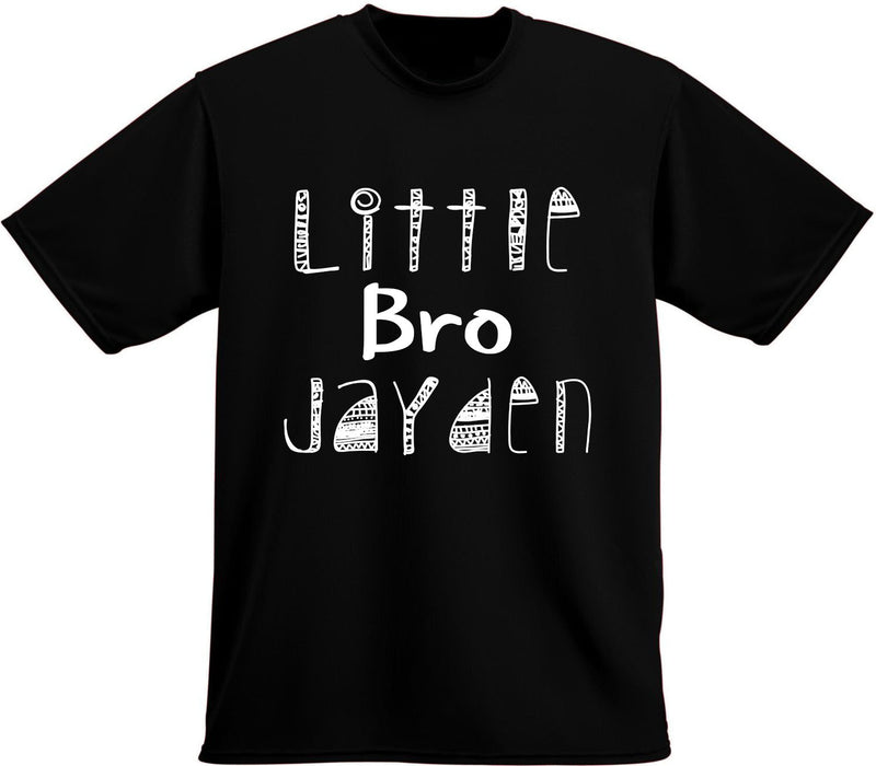 Little Brother Big Brother Shirt set, Tribal