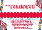 Carnival Bag toppers, Gift tags