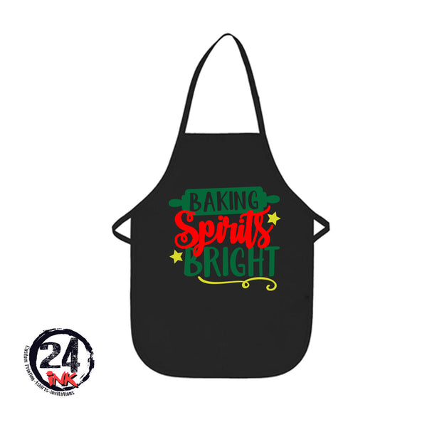 Baking Spirits Bright Apron, Christmas, Aprons