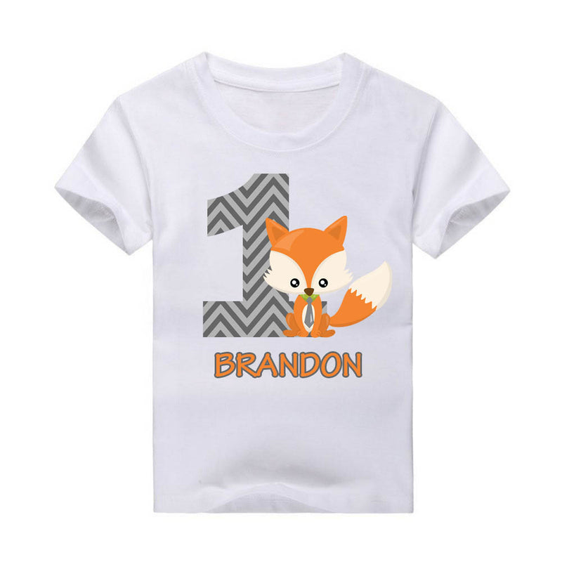 Woodland Creatures T-shirt, Fox