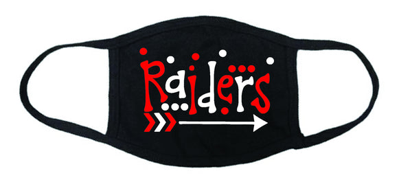 Adult Raiders face mask, Masks