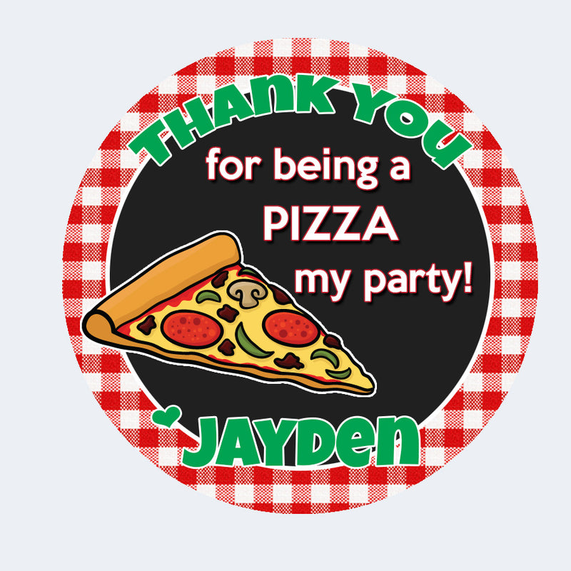 Pizza Gift Tags