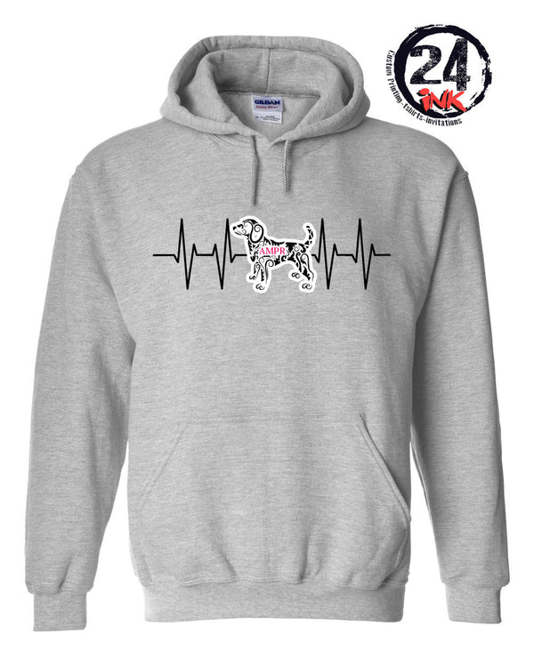 AMPR  Heartbeat Hooded Sweatshirt