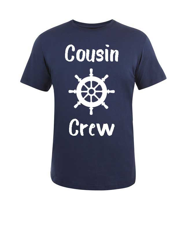 Cousin Crew T-Shirt, Cruise
