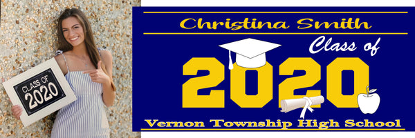 Graduation Class of Sign, banner