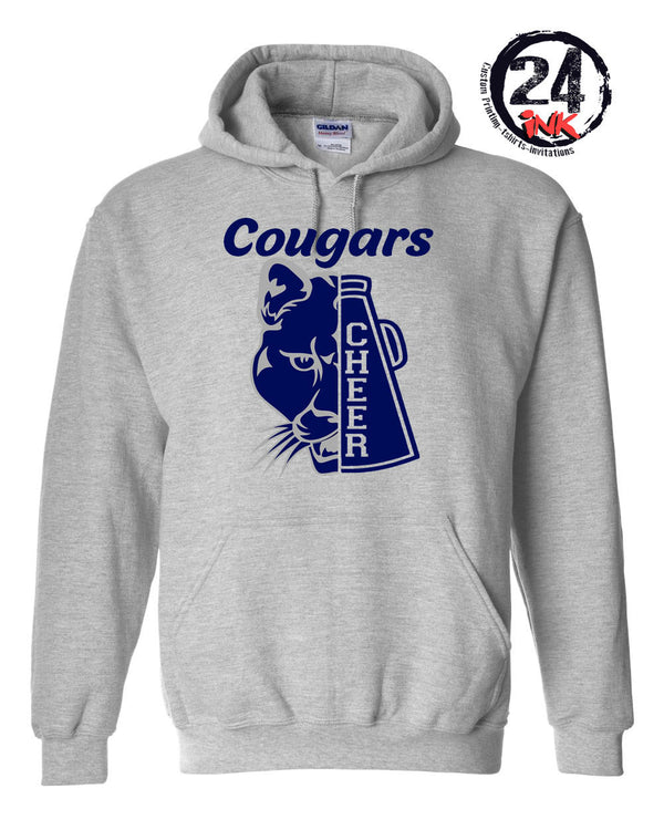 Cougar Megaphone Cheer Hooded Sweatshirt