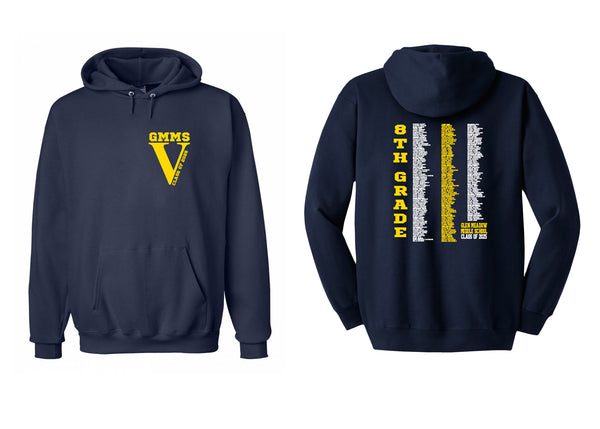 Glen Meadow class of 2025 hooded sweatshirt