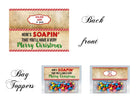 Christmas bag toppers 24 INK DEAL
