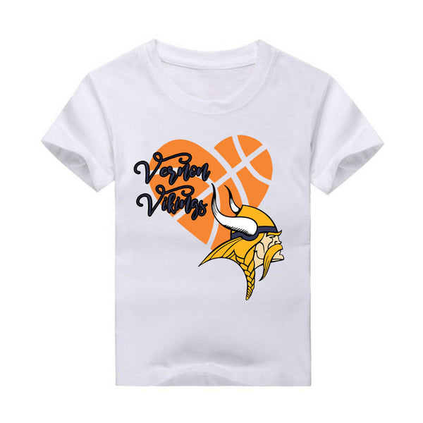 Basketball Heart T-Shirt, custom, Basketball