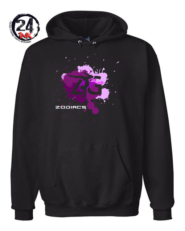 Zodiacs splash Hooded Sweatshirt