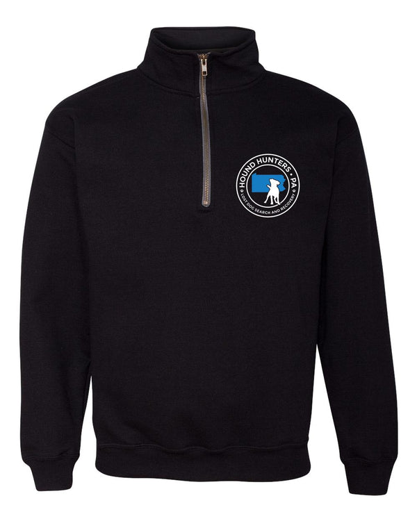 Hound Hunters Half Zip Up sweatshirt